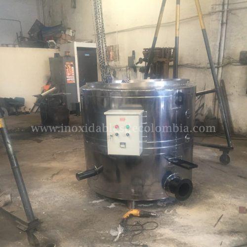 Fabricación de marmita