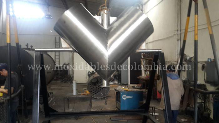 Fabricación de mezclador